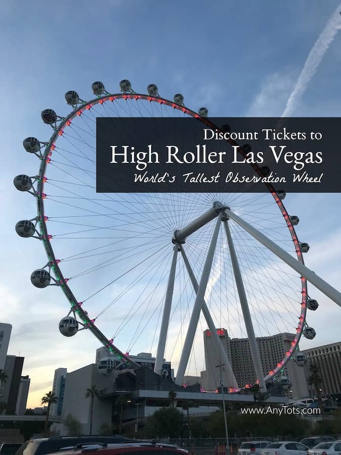 Things to do in Las Vegas: Ride the World's Tallest Observation Wheel - High Roller Discount