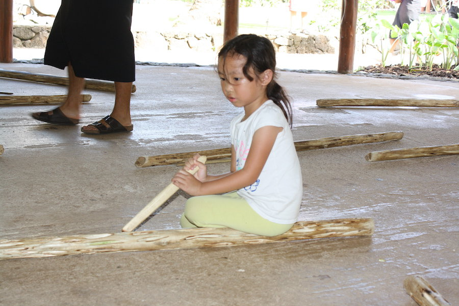 things to do at polynesian cultural center - make fire
