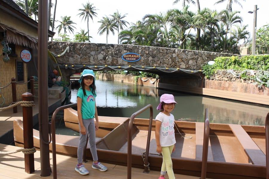 polynesian cultural center canoe tour
