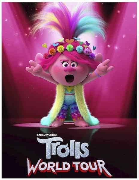 Free Printable Trolls World Tour Coloring Pages Amp Party