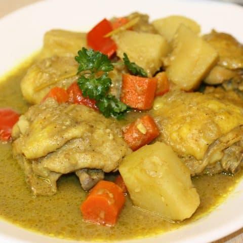 Filipino Chicken Curry Instant Pot