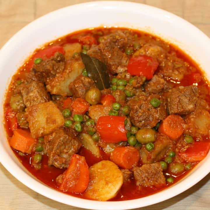 Beef Caldereta Instant Pot