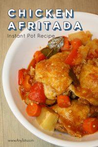 Chicken Afritada Instant Pot