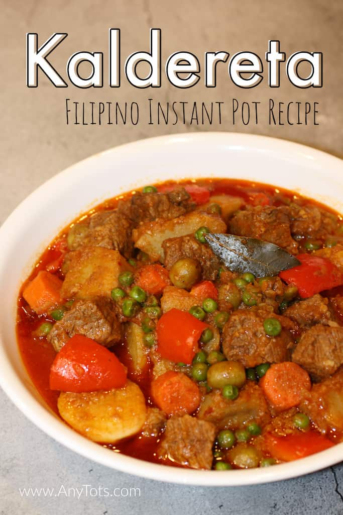 Instant Pot Filipino Recipes Beef Caldereta