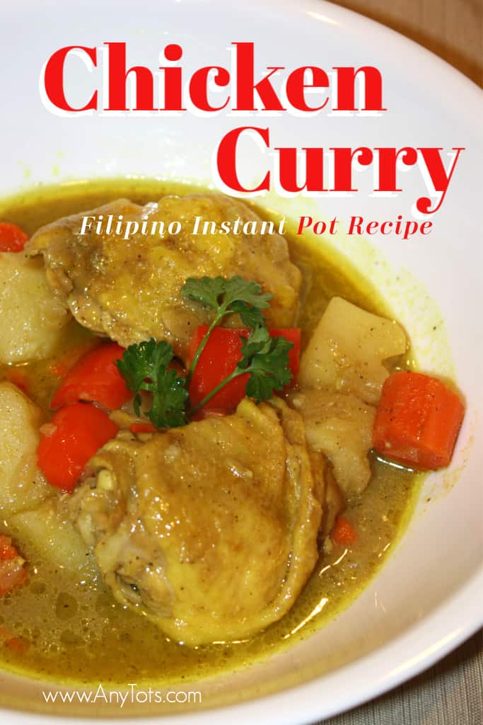 Instant Pot Filipino Recipes Chicken Curry