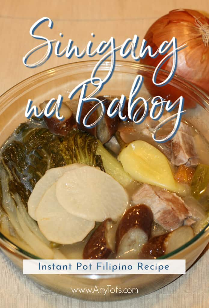 Instant Pot Filipino Recipes Sinigang na Baboy